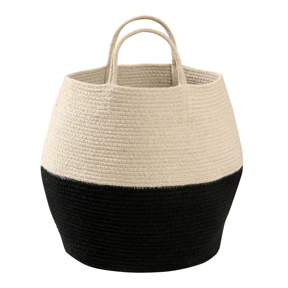 Lorena Canals - basket Zoco - black-natural