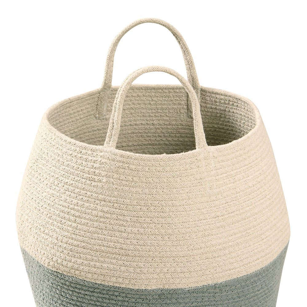 Lorena Canals - basket Zoco -vintage blue-natural