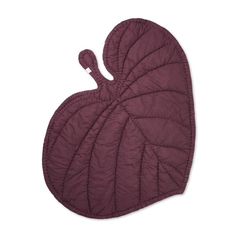 NOFRED – Leaf Blanket burgundy