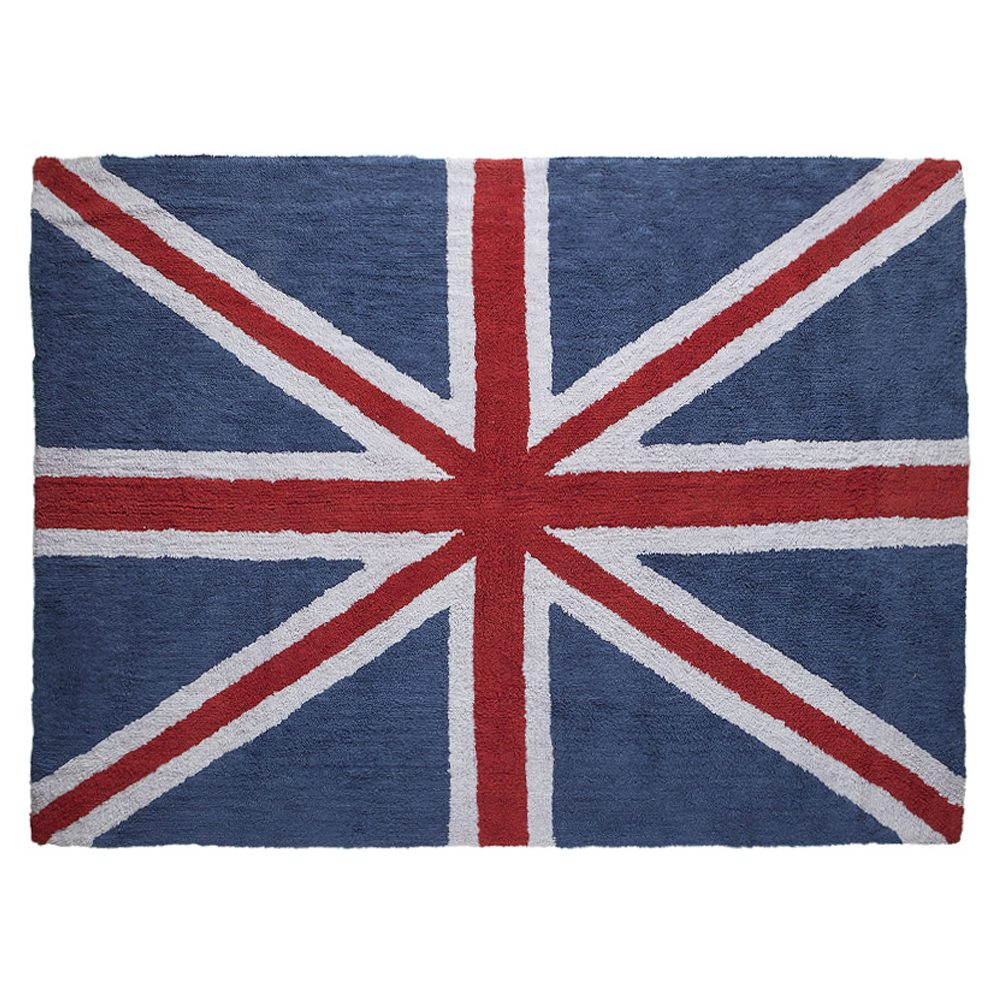 Lorena Canals – Vloerkleed kinderkamer – Flag of United Kingdom – 140 x 200 cm