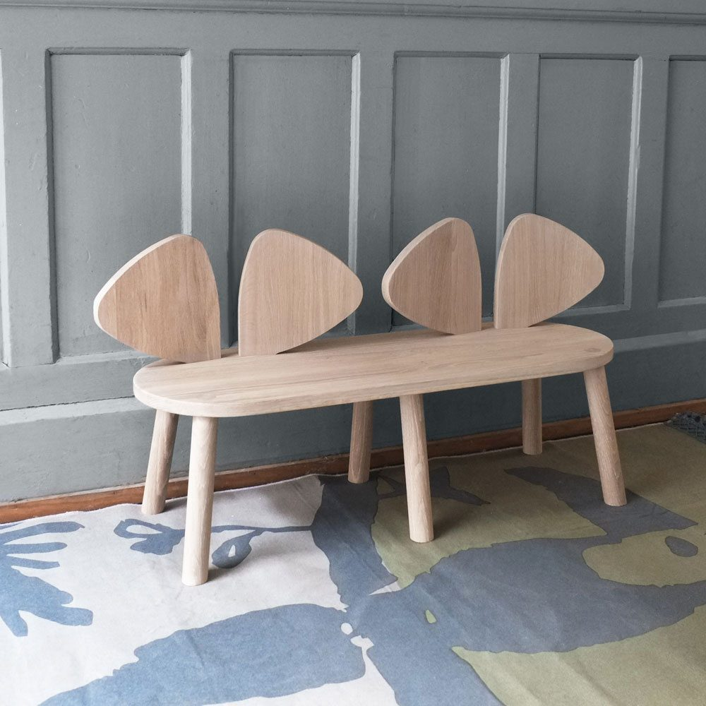 NOFRED Mouse bench oak
