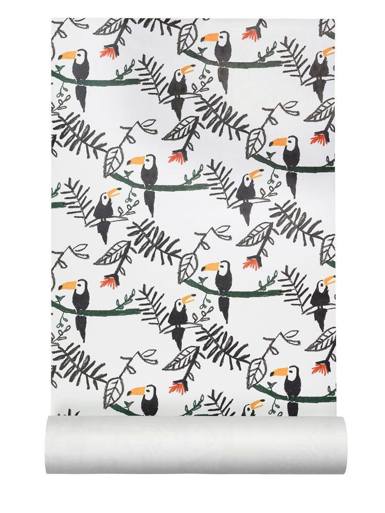 NOFRED – Behang kinderkamer Toucan