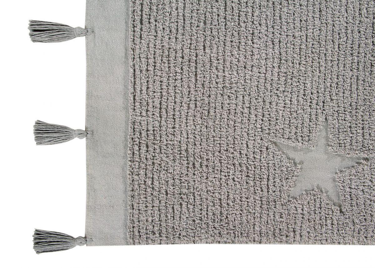 Vloerkleed Hippy Stars 120 x 175 cm grey (2)