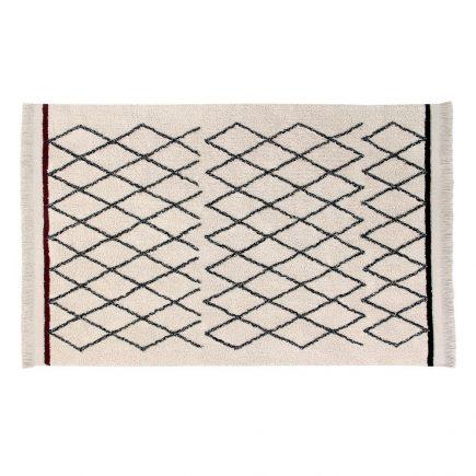Vloerkleed katoen Bereber Crisscross  120 x 170 cm
