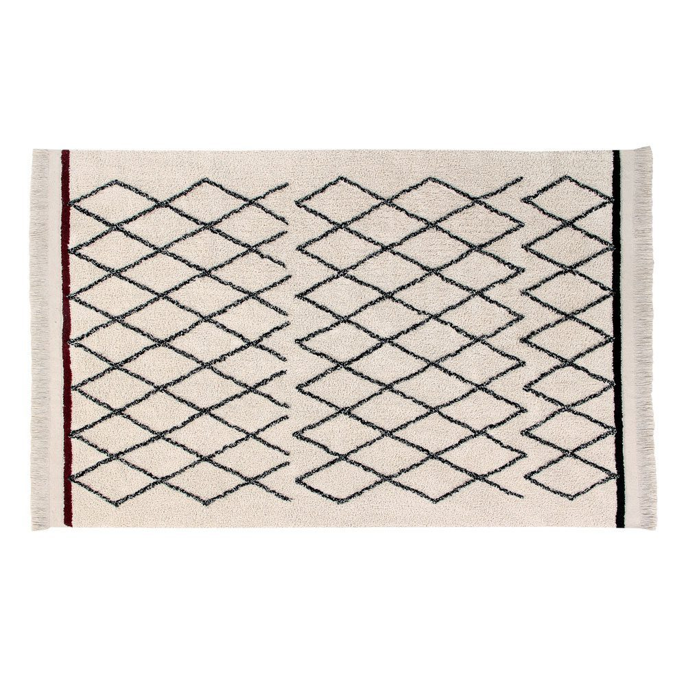 Vloerkleed katoen Bereber Crisscross  140 x 210 cm