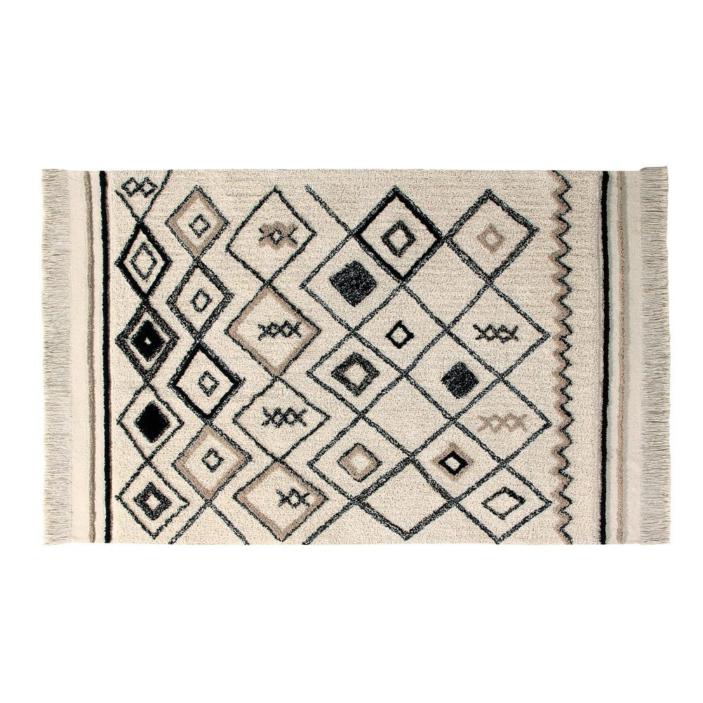 Vloerkleed katoen Bereber Ethnic 140 x 215 cm