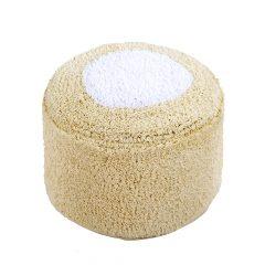 Lorena Canals Poef Marshmallow vanilla