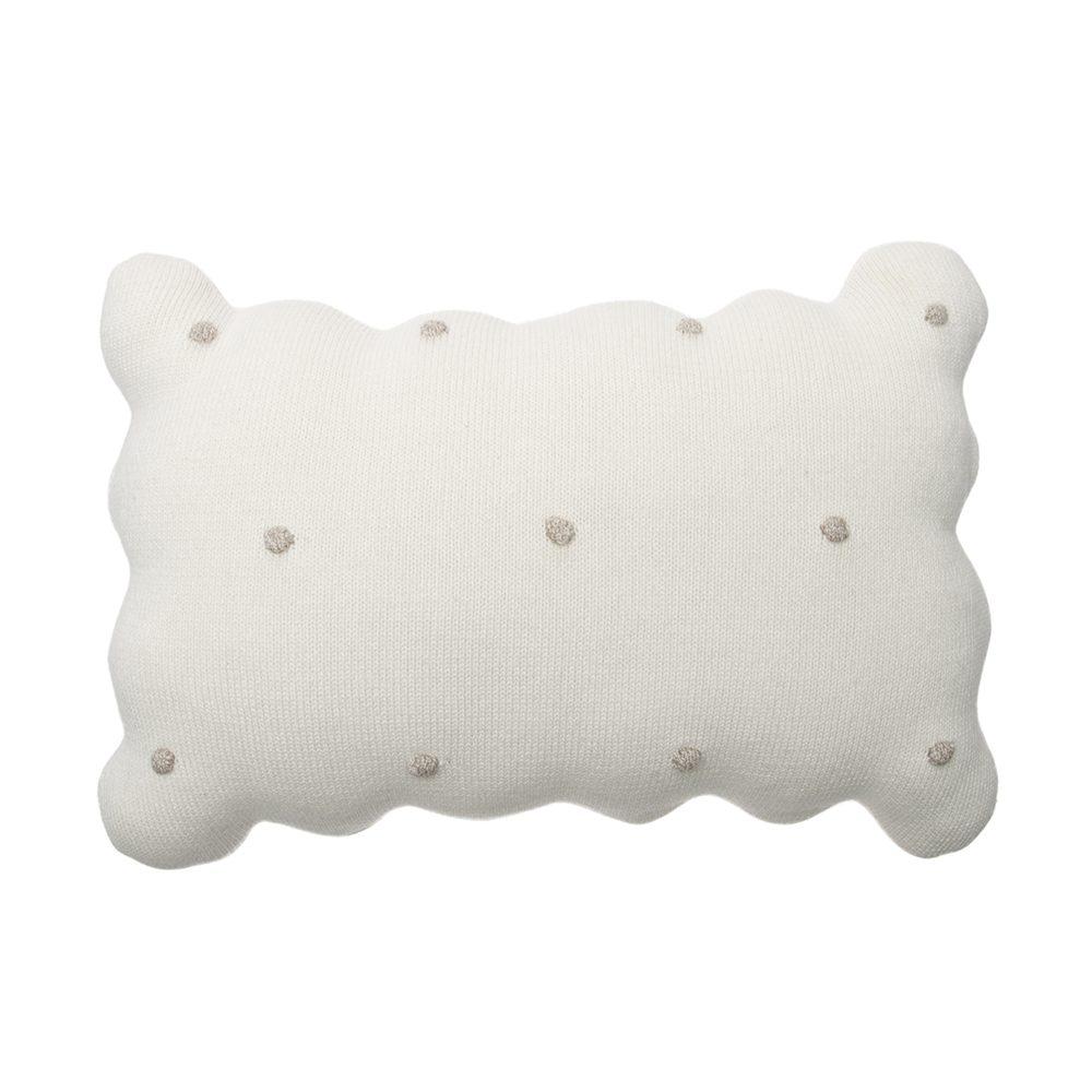 Lorena Canals – Wasbaar Kussen – Biscuit – Ivory – 25 x 35 cm