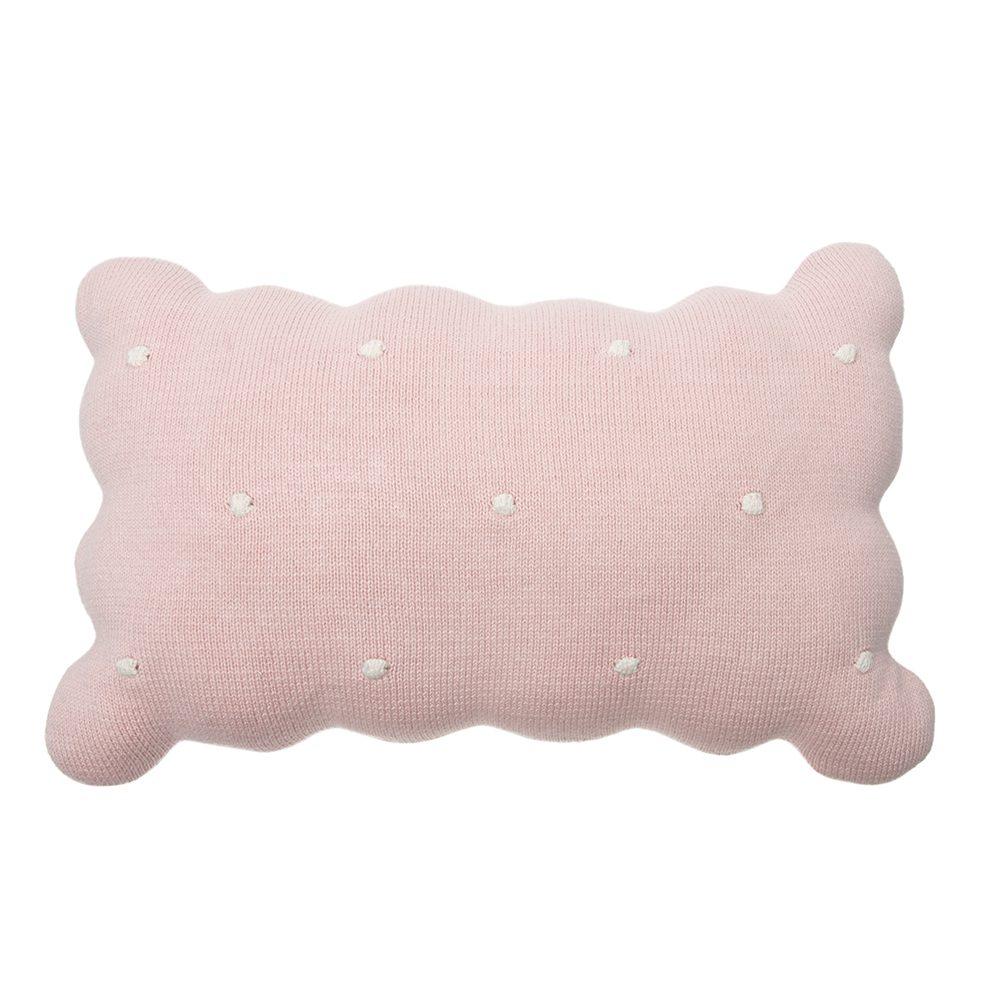 Lorena Canals – Wasbaar Kussen – Biscuit – Pink – 25 x 35 cm
