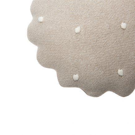 Lorena Canals Sierkussen Round Biscuit dune white