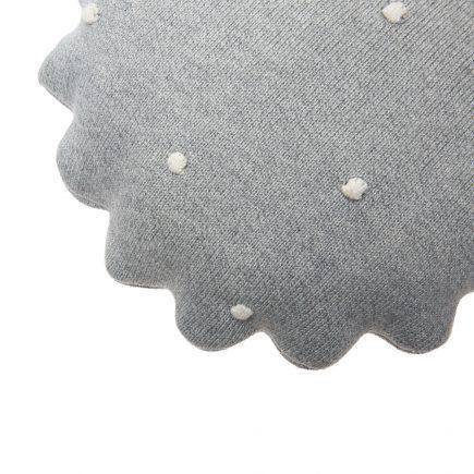 Lorena Canals Sierkussen Round Biscuit grey