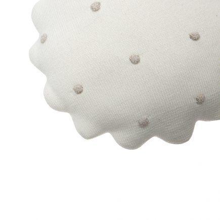 Lorena Canals Sierkussen Round Biscuit ivory