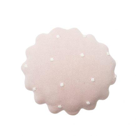 Lorena Canals Sierkussen Round Biscuit pearl pink