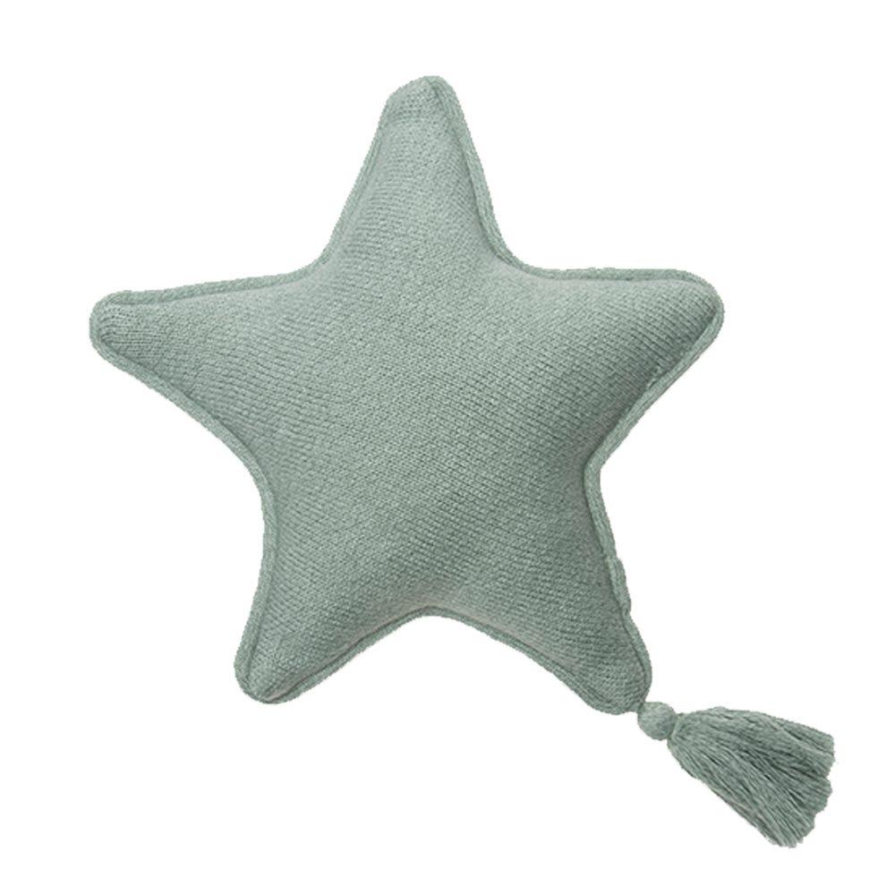 Lorena Canals – Sierkussen – Twinkle Star – Indus Blue – 25 x 25 cm