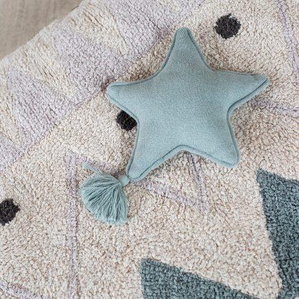 Lorena Canals Sierkussen Twinkle Star indus blue