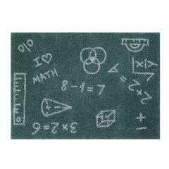 Lorena Canals Wasbaar vloerkleed I love maths