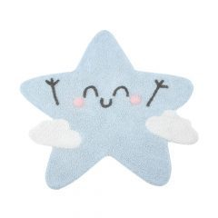 Lorena Canals kindervloerkleed Happy Star Silhouette