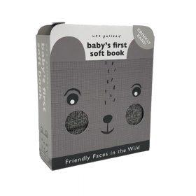 Wee Gallery – Baby's Eerste Zachte Boekje – Soft Faces Wild