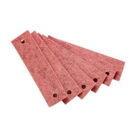 Leander – Vilten handgrepen voor Commode – Roze (6st.)