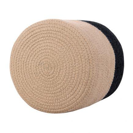 Lorena Canals Basket Dual black linen