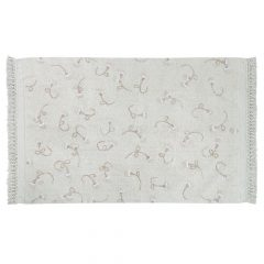 Lorena Canals Groot Vloerkleed English Gardens ivory