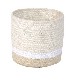 Lorena Canals Mini Basket tricolor ivory