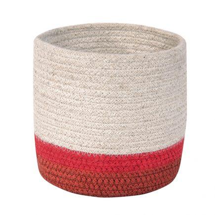Lorena Canals Mini Basket tricolor natural