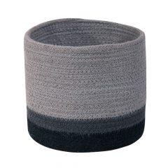 Lorena Canals Mini Basket tricolor pearl grey