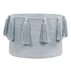 Lorena Canals Opbergmand Tassels blue