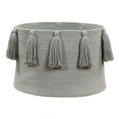 Lorena Canals Opbergmand Tassels light grey
