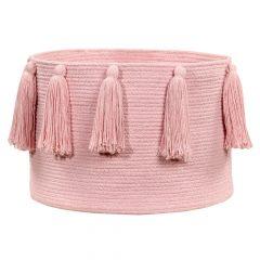 Lorena Canals Opbergmand Tassels pink