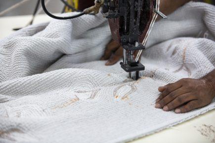 Lorena Canals Wasbaar vloerkleed Cotton Bolls