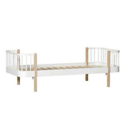 Oliver Furniture Juniorbed Wood 90 x 200 cm white oak