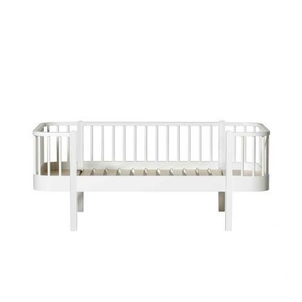 Oliver Furniture Juniorbed Wood met spijlen 90 x 160 cm white