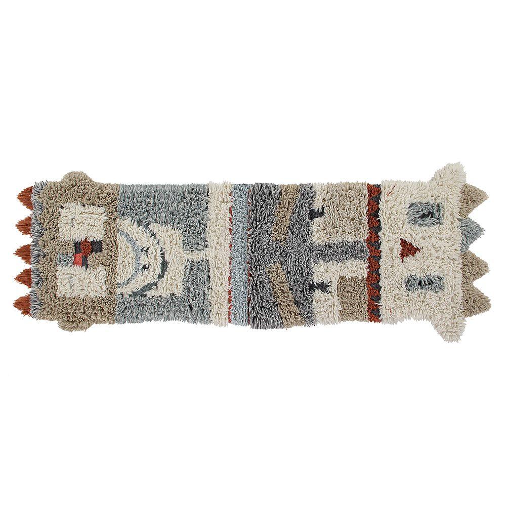 Woolable – Wollen Hopi-Vloerkleed – Kachina – 90 x 240 cm