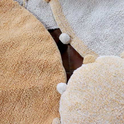 Lorena Canals - Washable Rug Bubbly Natural - Honey