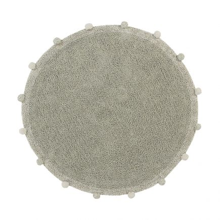 Lorena Canals - Washable Rug Bubbly Natural - Olive