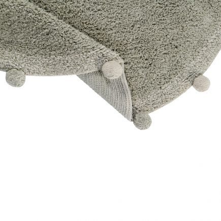 Lorena Canals - Washable Rug Bubbly Natural - Olive5