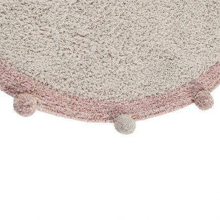 Lorena Canals - Washable Rug Bubbly Natural - Vintage Nude2
