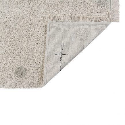 Lorena Canals Washable Rug Hippy Dots natural - olive