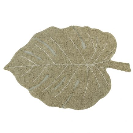 Lorena Canals - Washable Rug Monstera Olive