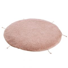 Lorena Canals - Washable rug/pouf Lou Vintage nude