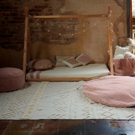 Lorena Canals - Washable rug/pouf Lou Vintage nude