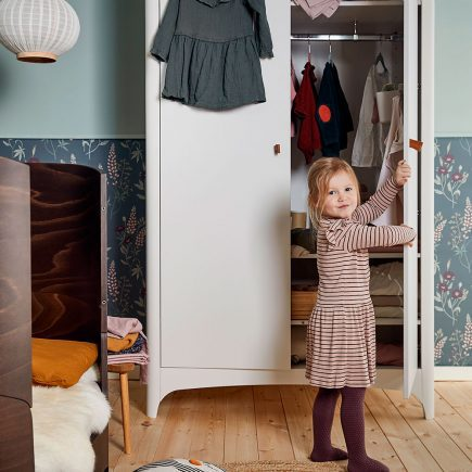 Leander kledingkast Classic 2 deuren white