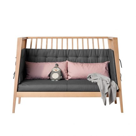 Sofaset for Linea and Luna baby cot 120 cool grey