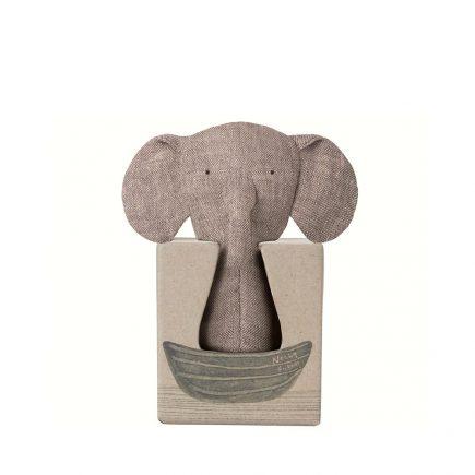 Noahs Friends Elephant Rattle 16 8917 00