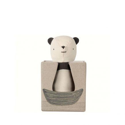 Noahs Friends Panda Rattle 16 8914 00