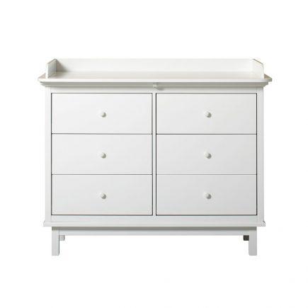 OF Seaside Nursery Dresser with 6 drawers
