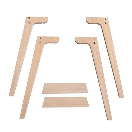 Oliver Furniture Wood Desk Legs height 66 cm