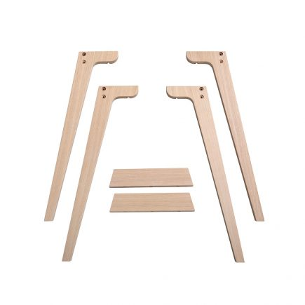 Oliver Furniture Wood Desk Legs table height 72,6 cm